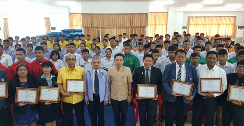 สุพรรณบุรี จัดโครงการหนุนเสริมศักยภาพนักเรียนนักศึกษาเพื่อเอาชนะภัยท้องถนน อาสาไทยยืนยัน Thai Reference