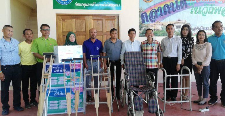 อาสาไทยยืนยัน Thai Reference อบต.ไสไทย เปิดตัวธนาคารอุปกรณ์การแพทย์ รับฝาก ส่งต่อให้ผู้ป่วย (กระบี่)