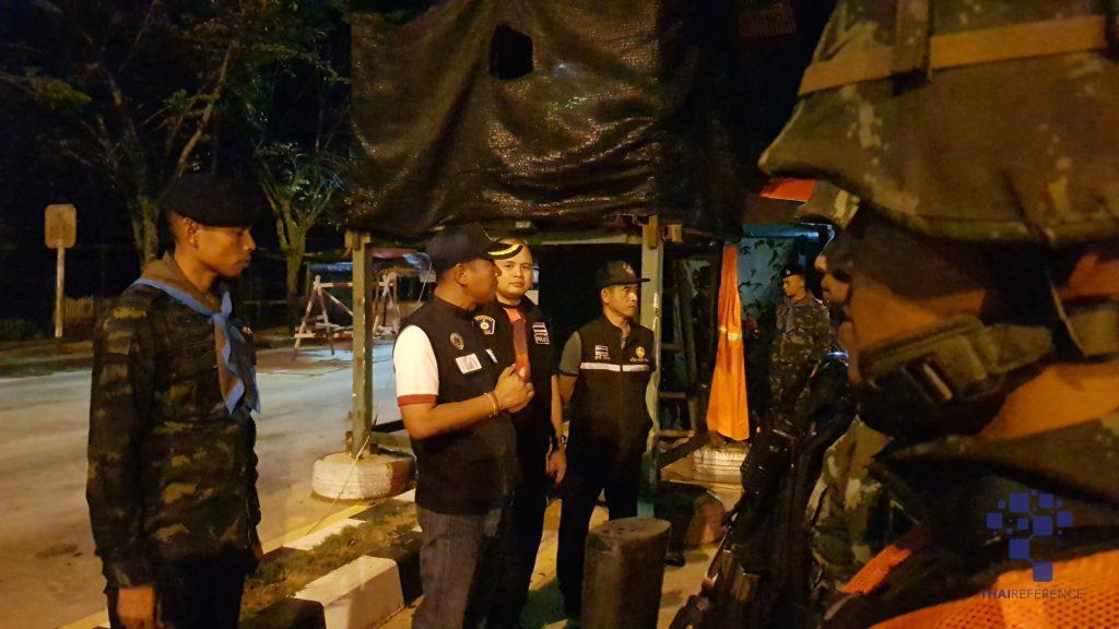 อาสาไทยยืนยัน Thai Reference นราธิวาส นอภ. ร่วม จนท. 3 ฝ่ายคุมเข้มเมืองชายแดน สุไหงโกลก
