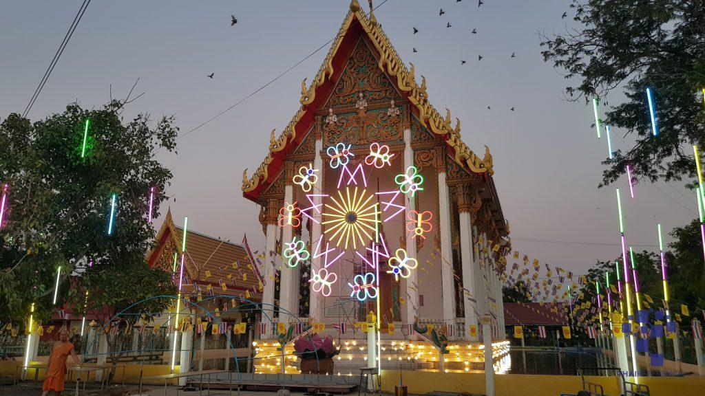 อาสาไทยยืนยัน Thai Reference สุพรรณบุรี วัดโภคารามเตรียมจัดประเพณีลอยกระทงรอบโบสถ์ยิ่งใหญ่
