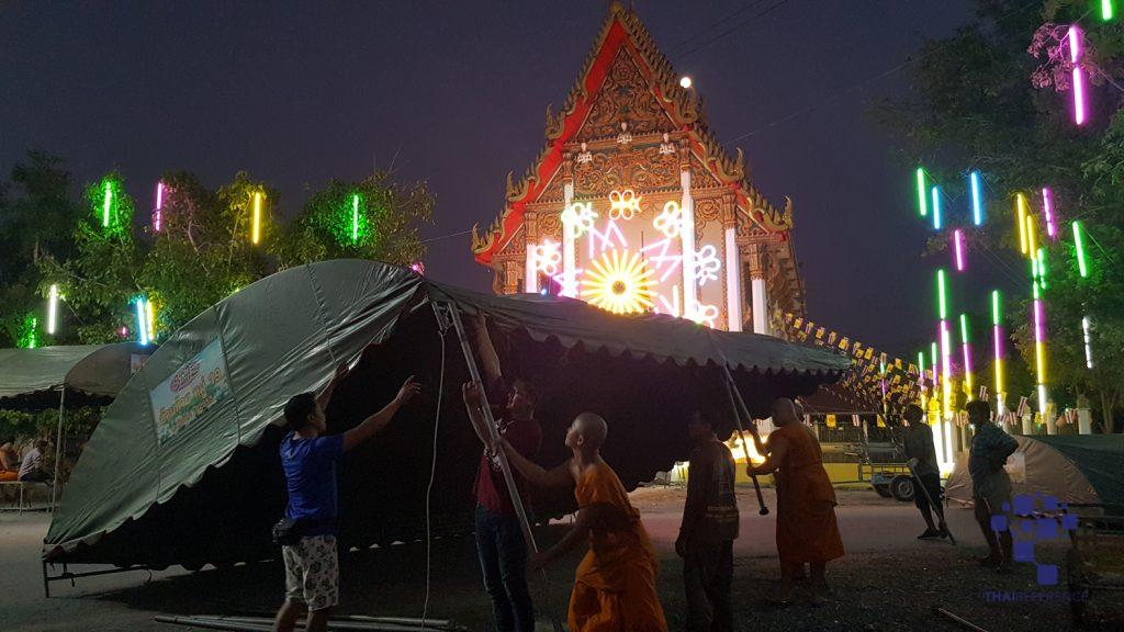 สุพรรณบุรี วัดโภคารามเตรียมจัดประเพณีลอยกระทงรอบโบสถ์ยิ่งใหญ่ อาสาไทยยืนยัน Thai Reference