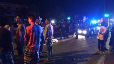 ปราจีนบุรี  รถบัสโดยสารเร่งให้พ้นไฟแดง ชน จยย. มีผู้เสียชีวิตทันที อาสาไทยยืนยัน Thai Reference